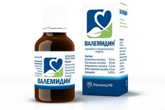 Валемидин 50мл капли д/приема внутрь спиртовые