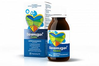 Валемидин плюс сироп без сахара 100мл
