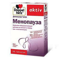 Доппельгерц актив менопауза таблетки 30 шт.