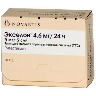 Экселон 4,6мг/24ч n30 пластырь трансдермальный