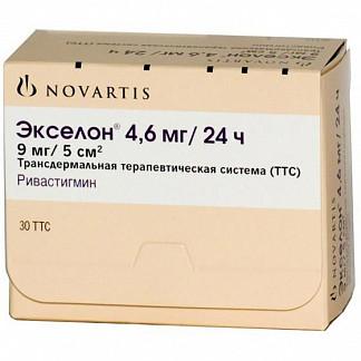 Экселон 4,6мг/24ч 30 шт. трансдермальная терапевтическая система