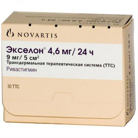 Экселон 4,6мг/24ч 30 шт. трансдермальная терапевтическая система, фото №1