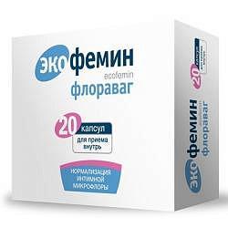 Экофемин флораваг капсулы 20 шт.