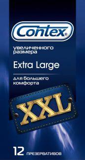 Контекс презервативы экстра ладж n12