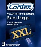 Контекс презервативы экстра ладж 3 шт.