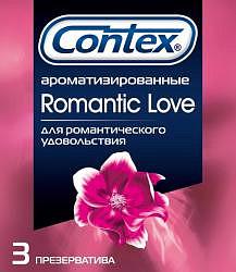Контекс презервативы романтик 3 шт.