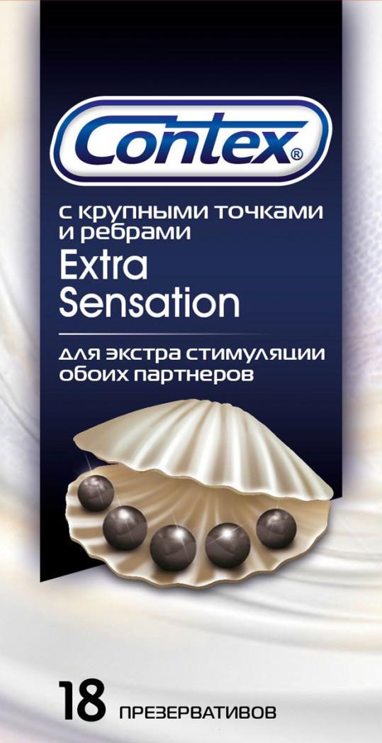 Контекс презервативы экстра сэнсэйшн n18, фото №1