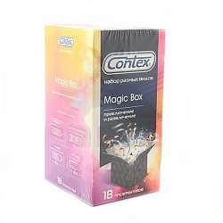 Контекс презервативы набор мэджик бокс приключение и развлечение 18 шт.