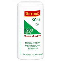 Милфорд заменитель сахара 1200 шт.