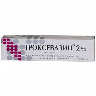 Троксевазин 2% 40г гель д/наружного применения