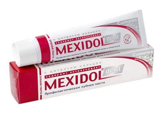 Мексидол дент зубная паста комплекс 65г, фото №1