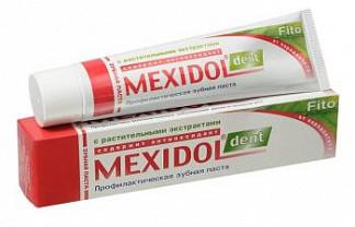 Мексидол дент зубная паста фито 65г
