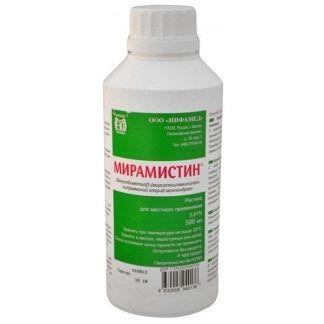 Мирамистин 0,01% 500мл р-р д/местного применения