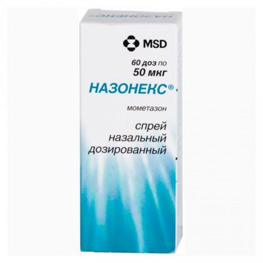 Назонекс 50мкг/доза 60доз спрей назальный дозированный, фото №1