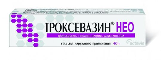 Троксевазин нео 40г гель, фото №1
