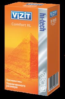 Визит презервативы хай-тэк увеличенного размера n12