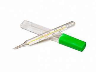 Амрус термометр ртутный в футляре tvy-120
