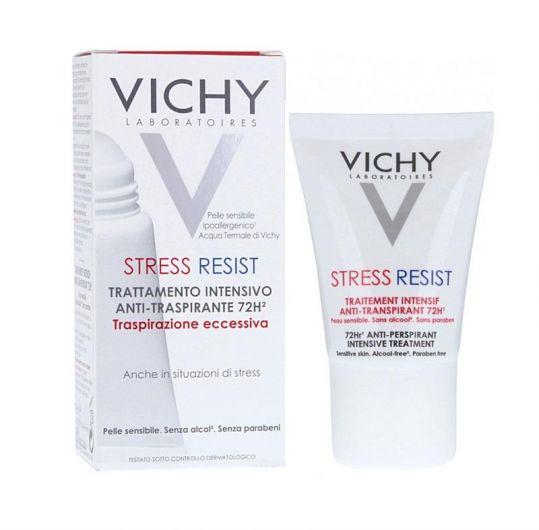 Виши дезодорант-крем 72часа анти-стресс против избыточного потоотделения 30мл, фото №1