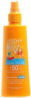 Виши капитал солей спрей солнцезащитный д/детей spf50+ 200мл