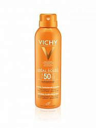 Виши капитал солей спрей солнцезащитный для тела spf50+ 200мл