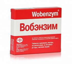 Вобэнзим 40 шт. таблетки