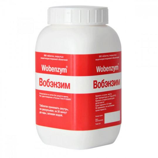 Вобэнзим 800 шт. таблетки, фото №1