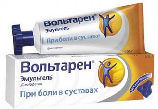 Вольтарен эмульгель 1% 100г гель для наружного применения при боли в суставах туба с треуг.крышкой