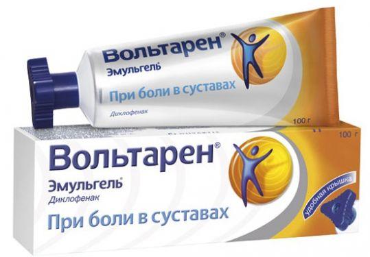 Вольтарен эмульгель 1% 100г гель для наружного применения при боли в суставах туба с треуг.крышкой, фото №1