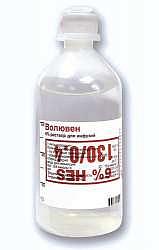 Волювен 6% 250мл 30 шт. раствор для инфузий