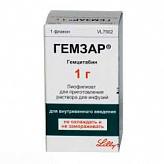 Гемзар 1г n1 лиофилизат д/приготовления р-ра д/инфузий