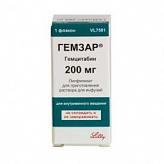 Гемзар 200мг n1 лиофилизат д/приготовления р-ра д/инфузий