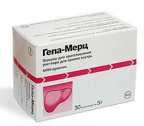 Гепа-мерц 5г 30 шт. гранулы для приготовления раствора для приема внутрь