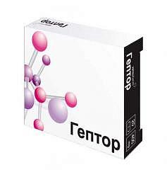 Гептор 400мг 20 шт. таблетки покрытые кишечнорастворимой оболочкой