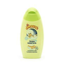 Мое солнышко пенка-шампунь для детей с головы до пят 200мл