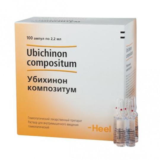 Дискус композитум 2,2мл 100 шт. раствор для инъекций biologische heilmittel heel gmbh, фото №1