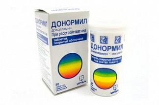 Донормил цена в аптеках москвы