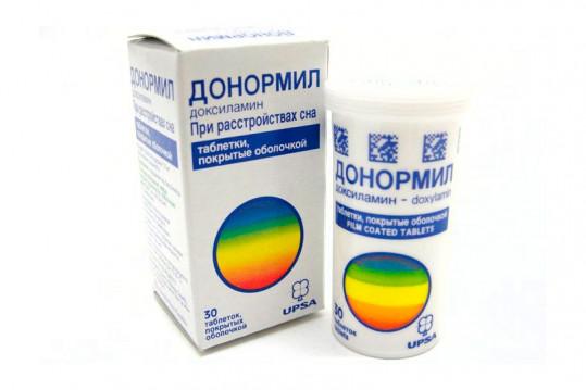 Донормил 15мг 30 шт. таблетки покрытые пленочной оболочкой, фото №1