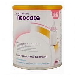Дп неокейт lcp смесь сухая для детей до 12 месяцев 400г