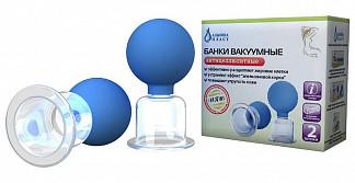 Альпина пласт банки вакуумные полимерно-стеклянные антицеллюлитные сухие 2 шт.
