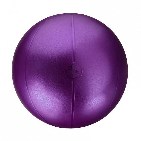 Альпина пласт премиум фитбол (мяч медицинский гимнастический пвх) d45см цвет металлик, фото №2