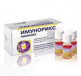 Имунорикс 400мг 7мл 10 шт. раствор для приема внутрь doppel farmaceutici