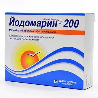 Йодомарин 200 200мкг n100 таб.