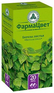 Береза листья 1,5г 20 шт. фильтр-пакет