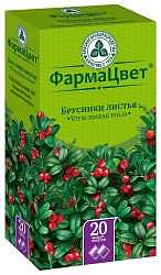 Брусники листья 1,5г 20 шт. фильтр-пакет