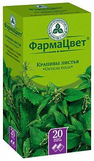 Крапива листья 1,5г 20 шт. фильтр-пакет