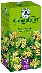 Липа цветки 1,5г 20 шт. фильтр-пакет