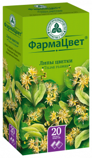 Липа цветки 1,5г n20 ф/п