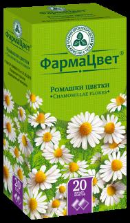 Ромашки цветки зеленая провинция фиточай 2г n20 ф/п