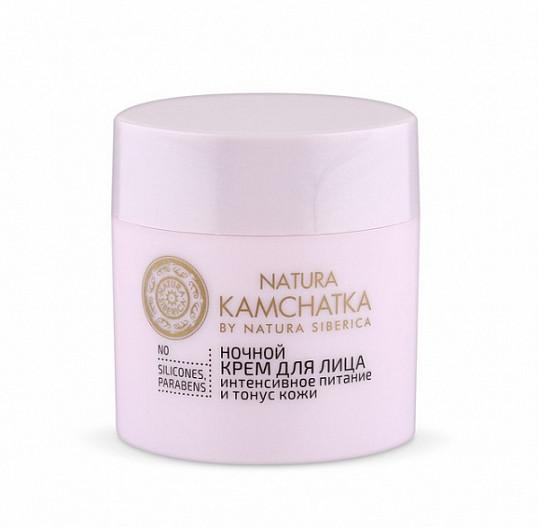 Натура сиберика камчатка крем для лица ночной интенсивное питание и тонус кожи 50мл, фото №2