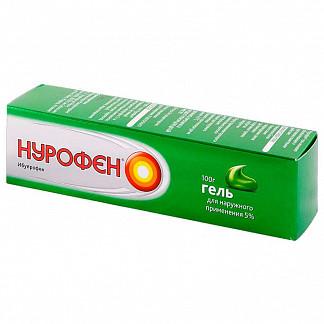 Нурофен 5% 100г гель для наружного применения